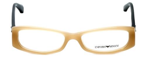 Emporio Armani Designer Eyeglasses EA3007-5087 in Opal Beige 53mm :: Rx Single Vision