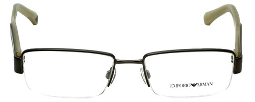 Emporio Armani Designer Reading Glasses EA1001-3003 in Matte Gunmetal 52mm