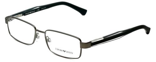Emporio Armani Designer Reading Glasses EA1002-3003 in Matte Gunmetal 53mm