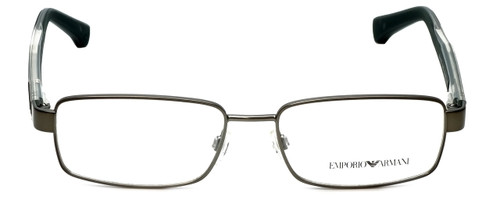 Emporio Armani Designer Reading Glasses EA1002-3003 in Matte Gunmetal 53mm