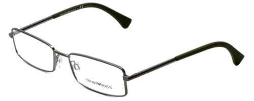 Emporio Armani Designer Reading Glasses EA1003-3003-52 in Matte Gunmetal 52mm