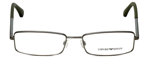 Emporio Armani Designer Reading Glasses EA1003-3003-52 in Matte Gunmetal 52mm