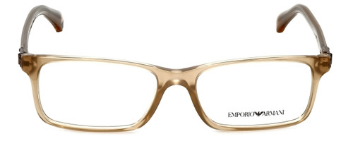 Emporio Armani Designer Reading Glasses EA3005-5084 in Opal Brown Pearl 53mm