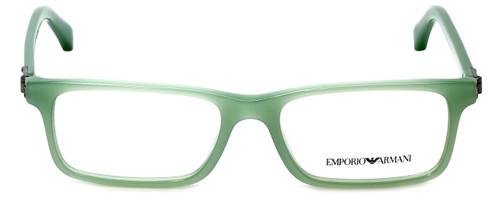Emporio Armani Designer Reading Glasses EA3005-5085 in Aqua Green Opal 51mm
