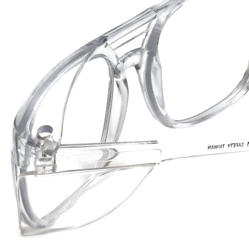 proRX Full Lens RX Safety-65 in Clear