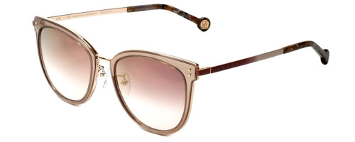 Carolina Herrera Designer Sunglasses SHE102-8FCG in Pink