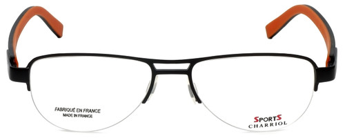 Sports Charriol Designer Eyeglasses SP23019-C4 in Black Orange 54mm :: Rx Bi-Focal