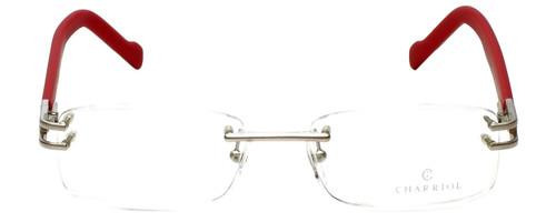 Charriol Designer Reading Glasses PC20454-C8 in Red 52mm