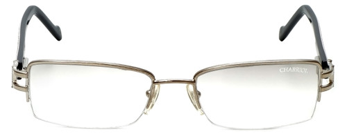 Charriol Designer Reading Glasses PC7177-C2 in Silver Zebra 52mm