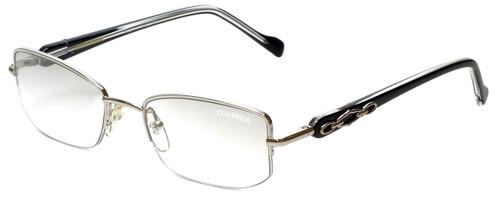 Charriol Designer Reading Glasses PC7230-C5 in Black Silver 51mm