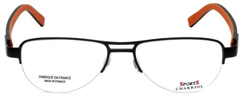 Sports Charriol Designer Reading Glasses SP23019-C4 in Black Orange 54mm