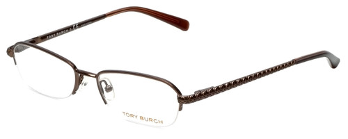 Tory Burch Designer Eyeglasses TY1003-104 in Brown 50mm :: Rx Single Vision