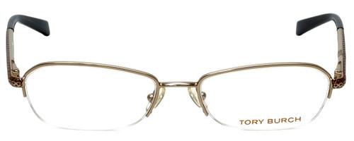 Tory Burch Designer Eyeglasses TY1003-106-52 in Gold 52mm :: Rx Single Vision