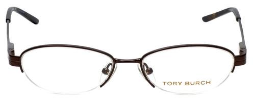 Tory Burch Designer Eyeglasses TY1002-104 in Brown 49mm :: Progressive