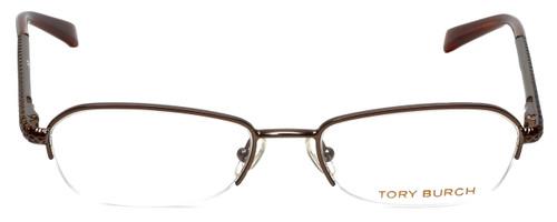 Tory Burch Designer Eyeglasses TY1003-104 in Brown 50mm :: Progressive