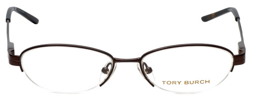 Tory Burch Designer Eyeglasses TY1002-104 in Brown 49mm :: Rx Bi-Focal