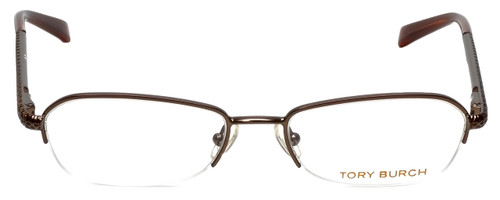 Tory Burch Designer Eyeglasses TY1003-104 in Brown 50mm :: Rx Bi-Focal