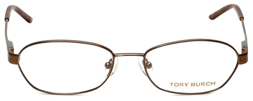 Tory Burch Designer Eyeglasses TY1008-120 in Light Brown 51mm :: Rx Bi-Focal