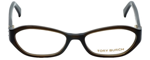 Tory Burch Designer Reading Glasses TY2002-735 in Brown Olive 50mm