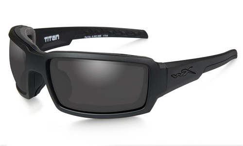 Wiley X Titan in Matte Black with Grey Lens