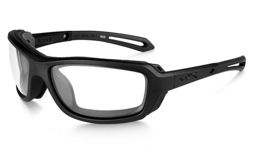 Wiley X Wave in Matte Black with Clear Lens