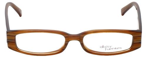 Daisy Fuentes Designer Eyeglasses DFMIA-247 in Brown Pearl 49mm :: Custom Left & Right Lens