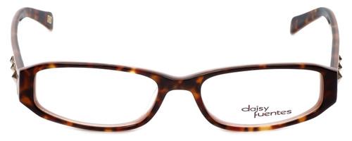 Daisy Fuentes Designer Eyeglasses DFNATALIE-145 in Tortoise Pink 51mm :: Custom Left & Right Lens