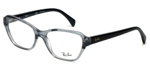Ray-Ban Designer Reading Glasses RB5341-5571 in Black-Fade 55mm