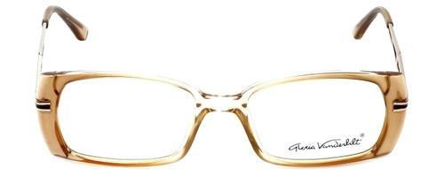 Gloria Vanderbilt Designer Eyeglasses GV772-097 in Tan 52mm :: Custom Left & Right Lens