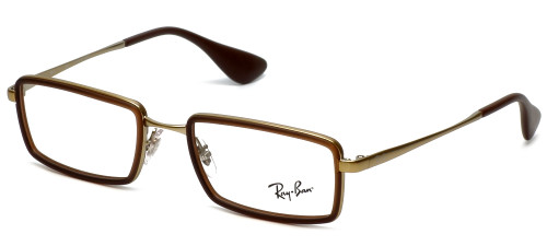 Ray-Ban Designer Reading Glasses RB6337-2858 in Brown  51mm