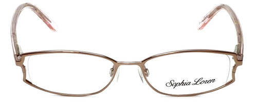 Sophia Loren Designer Eyeglasses SL-M152-029 in Sienna 49mm :: Custom Left & Right Lens