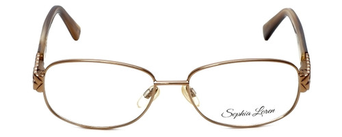 Sophia Loren Designer Eyeglasses SL-M241-234 in Tan 52mm :: Rx Single Vision