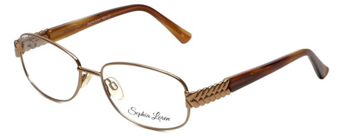 Sophia Loren Designer Eyeglasses SL-M241-234 in Tan 52mm :: Rx Bi-Focal