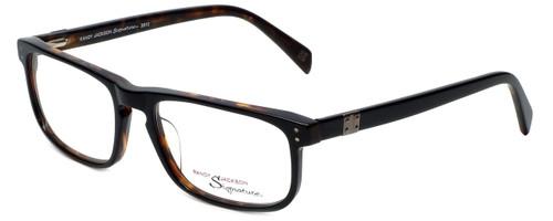 Randy Jackson Designer Eyeglasses RJ3013-021 in  Black 55mm :: Custom Left & Right Lens