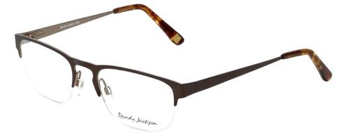 Randy Jackson Designer Eyeglasses RJ1026-183 in Brown 50mm :: Progressive