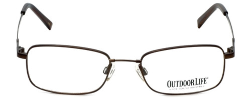 Outdoor Life Designer Eyeglasses OLZF712-183 in Brown 52mm :: Rx Single Vision