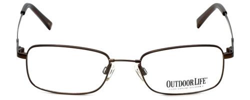 Outdoor Life Designer Eyeglasses OLZF712-183 in Brown 52mm :: Progressive
