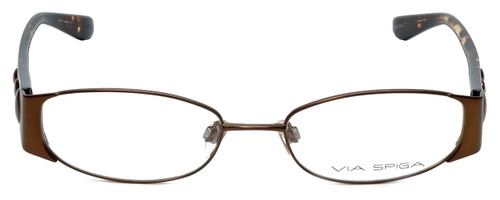 Via Spiga Designer Eyeglasses Adria-560 in Brown 51mm :: Custom Left & Right Lens