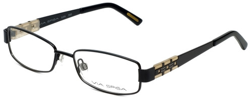 Via Spiga Designer Eyeglasses Lalia-500 in Black 52mm :: Custom Left & Right Lens