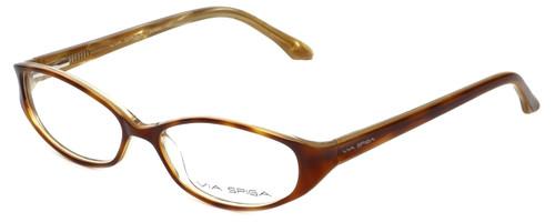 Via Spiga Designer Eyeglasses Striano-620 in Blonde Tort 52mm :: Custom Left & Right Lens