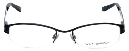 Via Spiga Designer Eyeglasses Luciana-770 in Navy 51mm :: Rx Single Vision