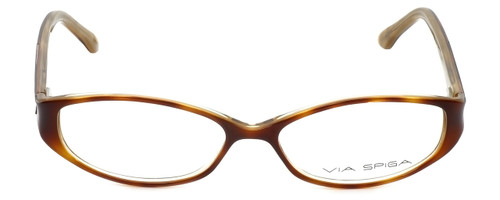 Via Spiga Designer Eyeglasses Striano-620 in Blonde Tort 52mm :: Rx Single Vision