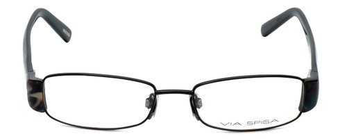 Via Spiga Designer Eyeglasses Lauria-520 in Black 51mm :: Progressive
