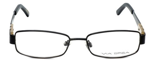 Via Spiga Designer Reading Glasses Lalia-500 in Black 52mm