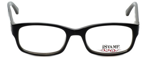 iStamp Designer Eyeglasses XP613Z-021 in Black 50mm :: Custom Left & Right Lens