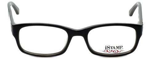 iStamp Designer Eyeglasses XP613Z-021 in Black 50mm :: Rx Single Vision