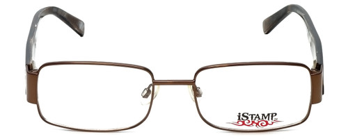 iStamp Designer Reading Glasses XP601M-183 in Brown 52mm
