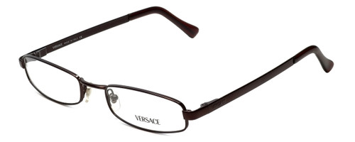 Versace Designer Eyeglasses 1003-1006 in Dark Brown 51mm :: Progressive