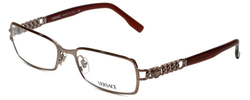 Versace Designer Eyeglasses 1088-1013 in Mocha Brown 52mm :: Rx Bi-Focal