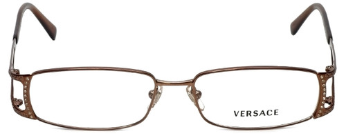 Versace Designer Eyeglasses 1091B-1045 in Copper 52mm :: Rx Bi-Focal